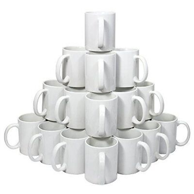 Blank sublimation mugs 11 oz PREMIUM GRADE AAA (36 pieces)