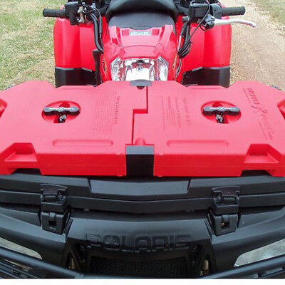 2 Gallon Fuel Pack Spare Container Off Road ATV Pack Rotopax Jerry Can Polaris