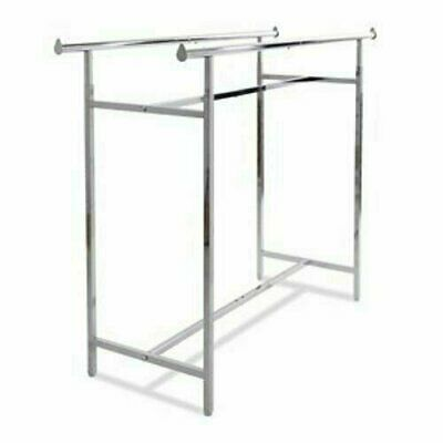 Econoco Double Bar H Clothing Racks K40 Euc - Local Pickup Only