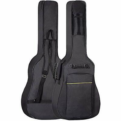 GLEAM Guitar Gig Bag - 0.3 Inch Sponge Padding Fit 41 Inch Acoustic Waterproof