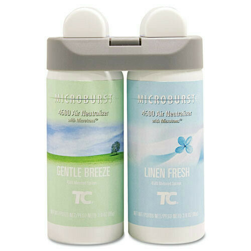 Rubbermaid Gentle Breeze/Linen Fresh Duet Refill (4-Pack) 3485949 NEW