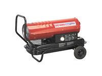 Sealey AB7081 70,000 btu/hr Space Warmer® Paraffin, Kerosene & Diesel Heater
