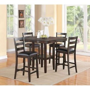 Dining room table and chairs -  5pc