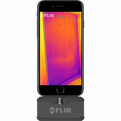 Flir One Pro Thermal Camera Attachment For Ios. 160 X 120 Resolution Flir Msx
