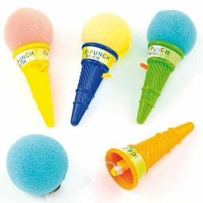 Ice Cream Pinata (12 Ice Cream Poppers - Pinata Toy Loot/Party Bag Fillers)