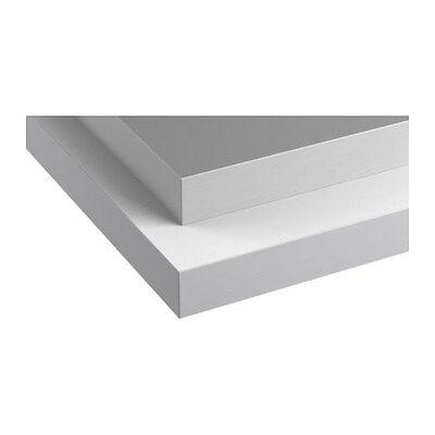 4' Silver Ikea Numerar Kitchen Countertop Desk with attachable legs