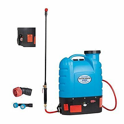 12v Backpack Outside Wall Washing Garden Sprayer 4 Gal 16l Five Speed Flow