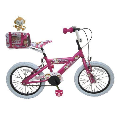 Girls bike, little monkey