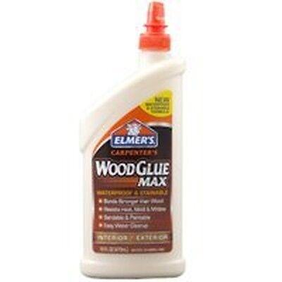 New Elmers E7310 16oz Carpenters Glue Max Wood Glue Interior Exterior Glue