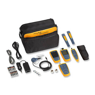 Fluke Networks Ftk1375 Fi-500 Fiber Optic Power Meter Multimode Kit