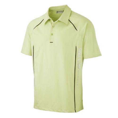 Lime green polo shirt ebay for Mens lime green polo shirt
