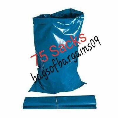 75 Rubble Sacks Builders Waste Bags Heavy Duty Garden Refuse 32l