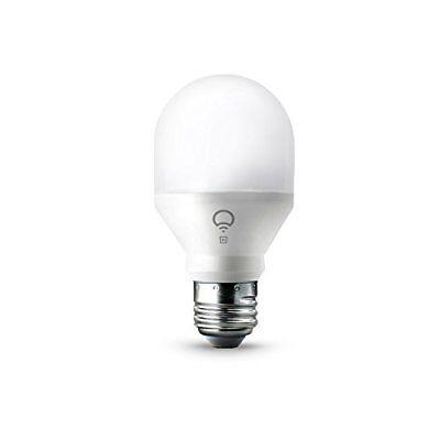 LIFX Mini - White E27 Wi-Fi Smart LED Light Bulb, Dimmable, Warm White, No Hub