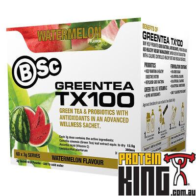 BODY SCIENCE GREEN TEA TX100 WATERMELON 60 x 3G POWDER FAT B