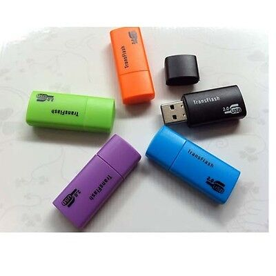 Useful Micro SD TF SDHC Card Reader Up to 64GB USB2.0 Hi-speed tim new sx