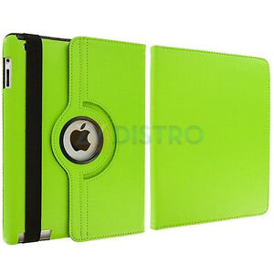 GREEN 360 ROTATING PU LEATHER CASE COVER WITH STAND FOR IPAD AIR Regina Regina Area image 5