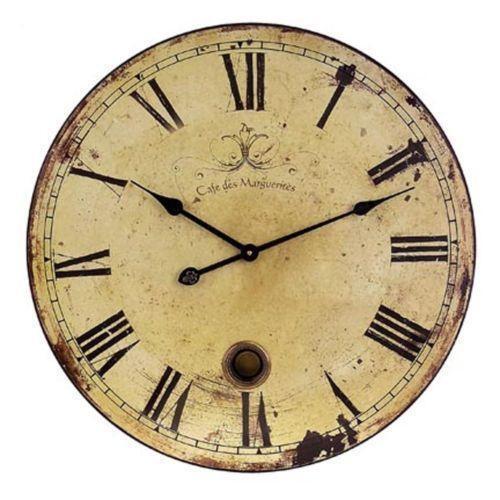 Wooden Pendulum Wall Clock Ebay