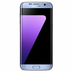 SAMSUNG BRAND NEW CORAL BLUE S7 EDGE UNOPENED UNLOCKED
