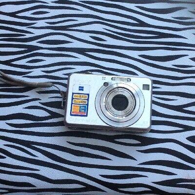 Sony Cyber-shot DSC-W100 8.1MP Digital Camera - Silver