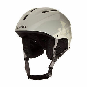 New Giro S4 Freeride Mens Large 57-59cm White Ski Snowboard Helmet (12 vents)