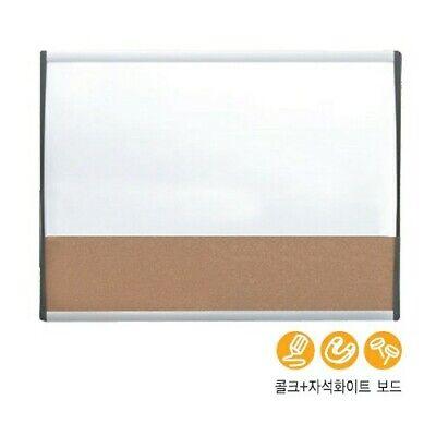 Brand New Quartet Magnetic Combination Board 17 X 23 Dry-erase Wcork Panel