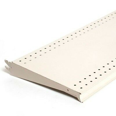 White Finish Gondola Shelf - Measures 18x48 - Retail Fixture