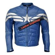 Captain America Motorcycle Jacket