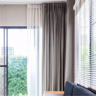 AFFORDABLE Curtains, Sheers, All  Blinds & Plantation Shutters,