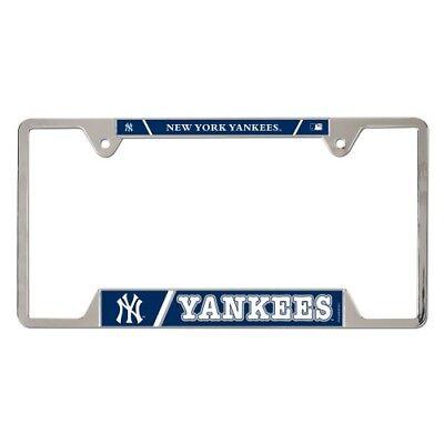 New York Yankees License Plate Frame Metal