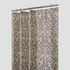 Brown Beige Shower Curtain