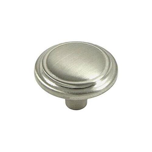 Brushed Satin Nickel Round Kitchen Cabinet Knob Hardware Decorative Building & Hardware