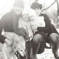 Fun loving family of 4 seeking nanny for 2 girls aged 1 and 4 1/