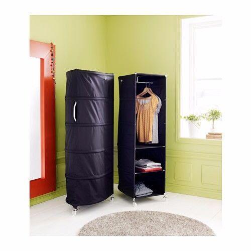 IKEA PS - Wardrobe tidy, black - 52x164 cm