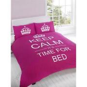 Keep Calm Bedding