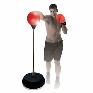 PUNCHING BAG, with STAND- LIKE NEW!