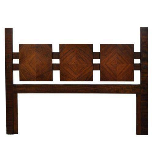 mid century modern queen headboard ebay. Black Bedroom Furniture Sets. Home Design Ideas