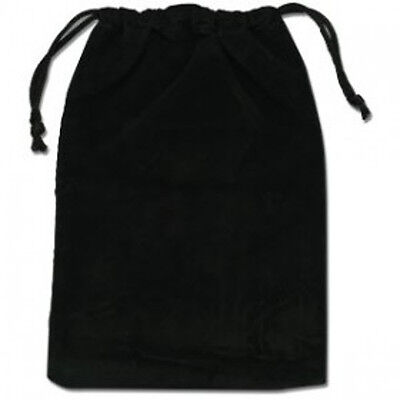 TAROT POUCH Velvet Drawstring Tarot Card Deck Black Bag
