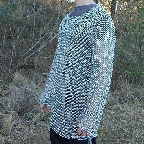 Chainmail Shirt | 10 mm | Butted | extra large Size | Medieval Armor | LARP
