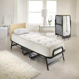 Jay-Be Fold up single bed with headboard