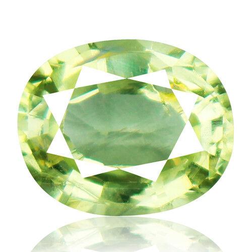 Tsavorite Family Garnet 3.81ct yellowish green color 100% natural earth mined