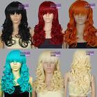 Bangs Orange Wigs