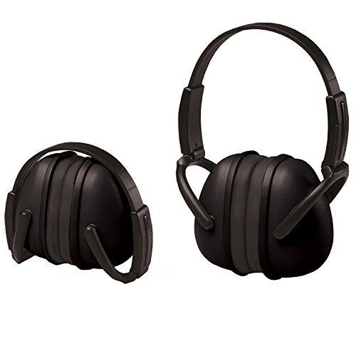 ERB Safety 14241 Ear Muffs 239* Foldable Black  EARMUFFS