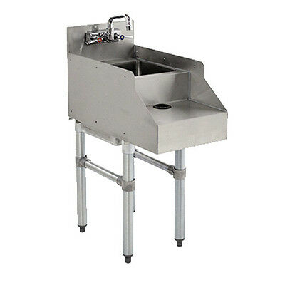 Advance Tabco Cr-rs-18 18 Underbar Blender Station With Dump Sink