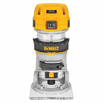 DeWALT DWP611 125HP Compact Premium VS Woodworking Router Tool  LED Lighted