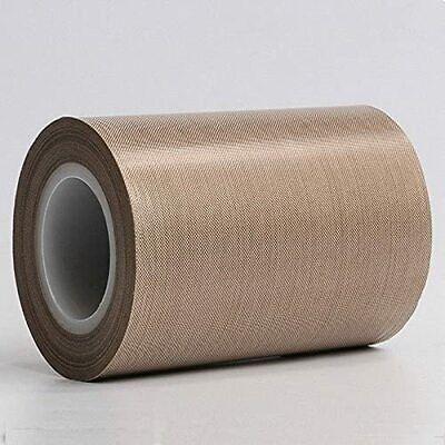 0.25mm 5x10m Ptfe Teflon Tape Nonstick 500 High-temp Fiberglass Adhesive Tape