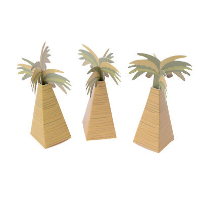 Rustic Favor Boxes (12pcs Rustic Wedding Favor Box Coconut Palm Tree Baby Shower Wedding Gifts)