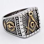 Masonic Ring 925