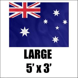 Australia Aussie Australian Flag New 5X3FT The Ashes, The ICC Champions Trophy