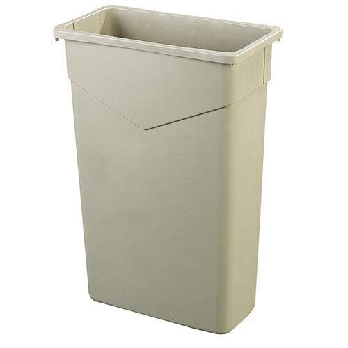 Carlisle 34202306 Trimline Container - 23 Gallon, Beige