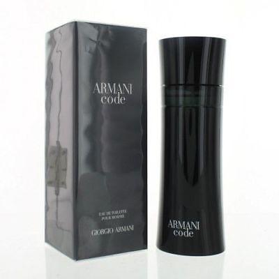 Armani Code by Giorgio Armani for Men 6.7 oz Eau de Toilette Spray NIB Sealed (Armani Code For Men Eau De Toilette)